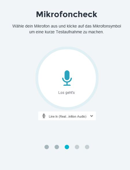 Mikrofoncheck