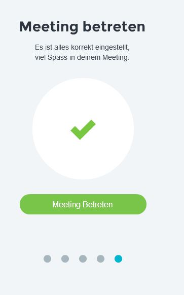 Meeting betreten